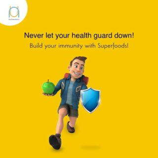 Superfoods help strengthen your body's ability to fight environmental factors that may lead to sickness, lethargy and fever. Keep yourself protected with superfoods.  #genomics  #genomicanalysis  #healthcheckup  #newyou  #lifestyle  #healthyliving  #nutrigenomics  #nutrition #betteryou #explorethenewyou