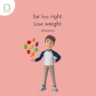Eating less doesn't guarantee healthy weight-loss. Get to know how your body reacts to different types of foods and what your superfoods are and eat what's right for you.  The answers lie #WithiNu  #genomics  #genomicanalysis  #healthcheckup  #newyou  #lifestyle  #healthyliving  #nutrigenomics  #nutrition #betteryou #explorethenewyou